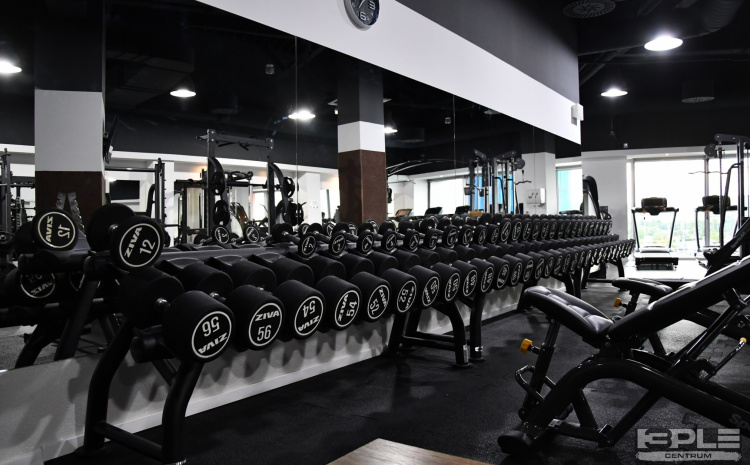 Mesačná permanentka do fitness centra 3PLE, OC Atrium Optima